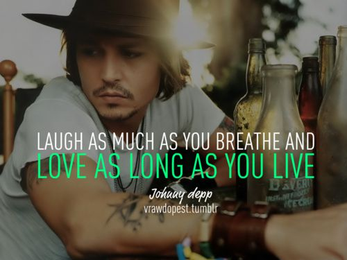 Love and Live Johnny Depp