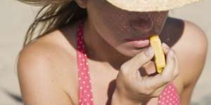 Sun Screen Care for Protecting Lips