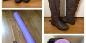 How To Make Boots Stand Up Tall With a Pool Noodle